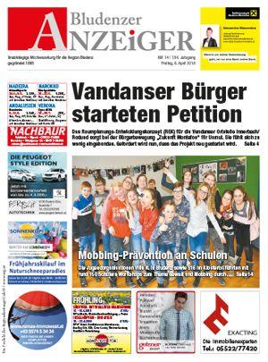 RZ Regionalzeitungen Vorarlberg (Anzeiger, Blättle, Walgaublatt)