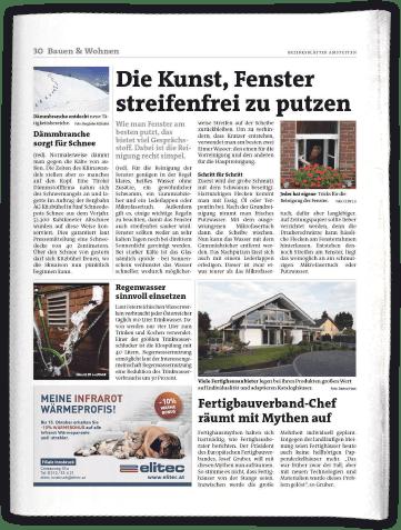 Spezial-Ressort Bauen & Wohnen