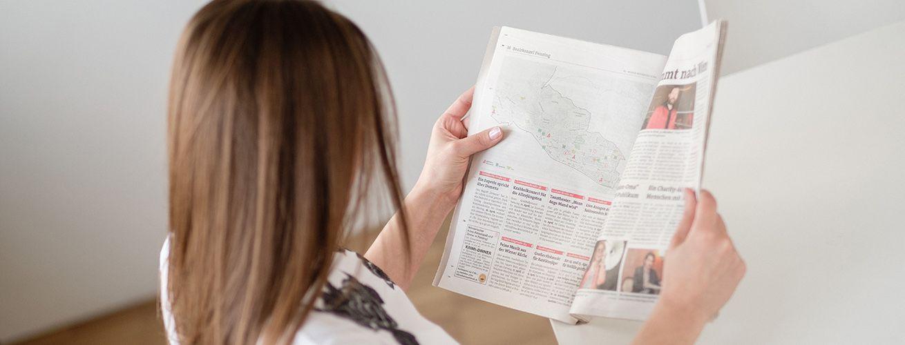 Regionalmedien Austria (RMA): Webseite (Startseite)