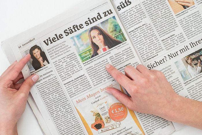 Regionalmedien Austria (RMA): Redaktion (Blattlinie, E-Paper, Österreich-Seite)